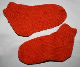 Oranje sokken maat 26/27