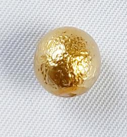 Acryl kraal Goudkleurig bubble