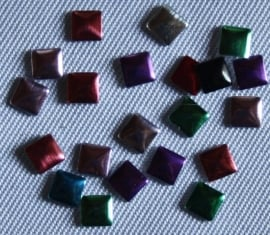 Square 3x3 mm Mixed colors