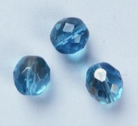 Glaskraal Facet Blauw AB