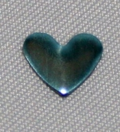 Heart Sky-Blue 6x7 mm
