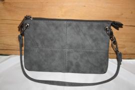 Kleine Tas met Rechthoeken (grijs)