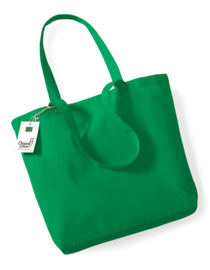 Katoenen boodschappentas Green