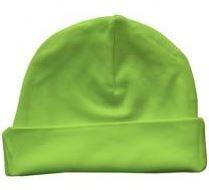 Babymutsje Lime Green