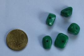 Halfedelsteen kraal Groen