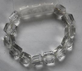 Chrystalkleurige armband