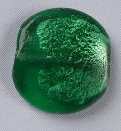 Glaskraal Groen met zilverfolie