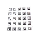 FS Pyramides Plain Silver 7 mm