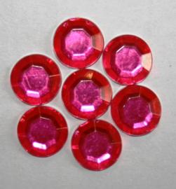 Plaksteen Rond Rose 10x10 mm