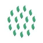 Leaf 7x10 mm Green