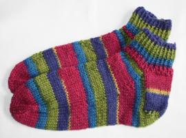 Kleurige sokken maat 34/35