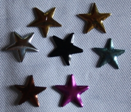 Star Mixed Colors 10x10 mm
