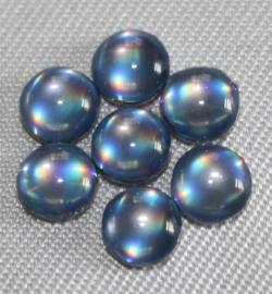 Glitzy Cabuchon Blue