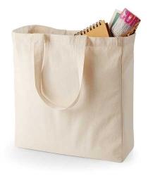 Canvas Classic Shopper Naturalgrey