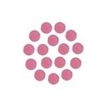 Mirror Pink Round 4 mm