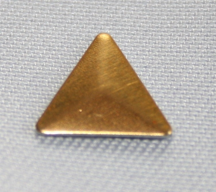 Triangle Gold (8x8 mm)