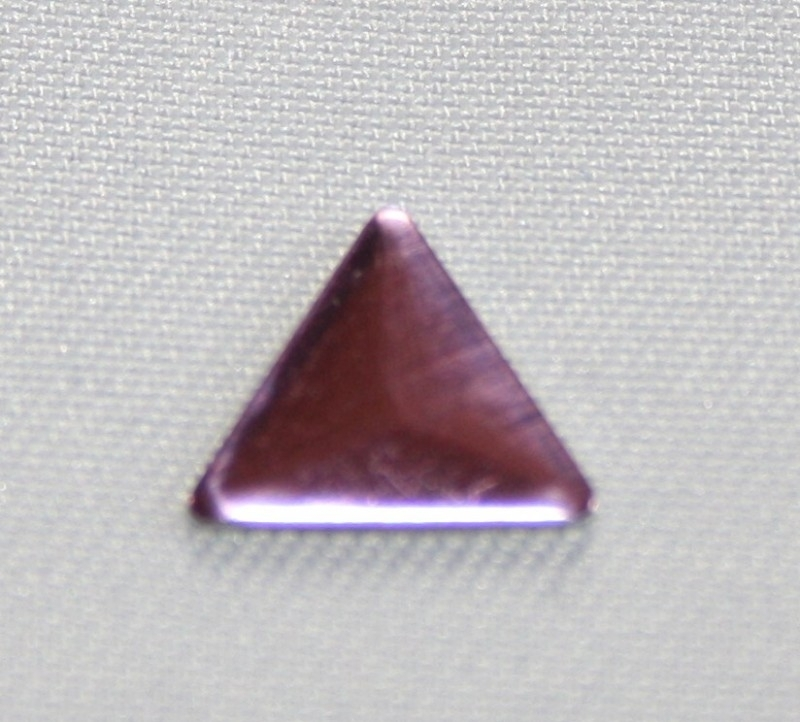 Triangle Pink (8x8 mm)