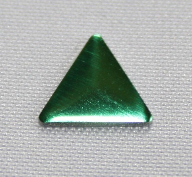 Triangle Green (8x8 mm)