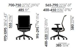 Vitra ID Mesh bureaustoel