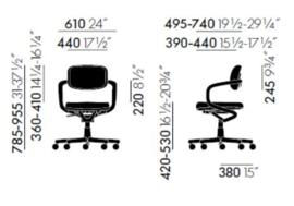 Vitra Allstar bureaustoel