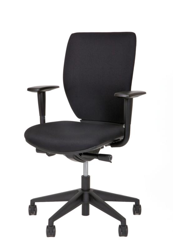 Goedkope bureaustoel thuis gestoffeerde rug