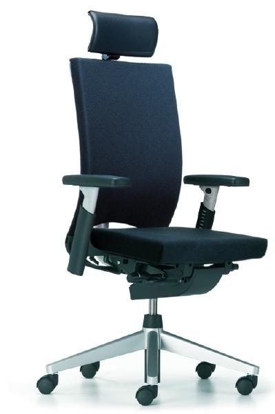Bureaustoel Met Hoofdsteun.Bureaustoel X 8823 Comforto Haworth Met Hoofdsteun Bureaustoelen