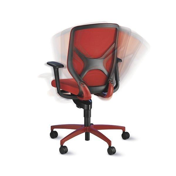 Wilkhahn IN bureaustoel Rood
