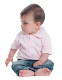 Baby poloshirt met naam