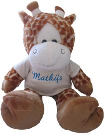 Giraf 45cm met naam