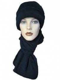 Sjaal Supra Fleece met naam