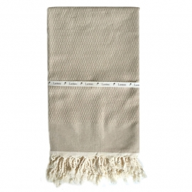 Tweed - Beige (LANTARA) 100x180cm
