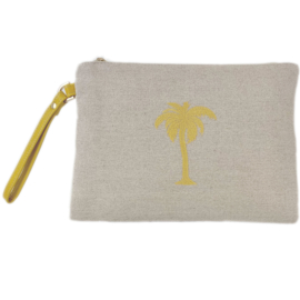 Palm Beach Pouch Clutch - Bronze  - LANTARA