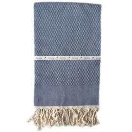 Blue  - Tweed (LANTARA), 100x180cm