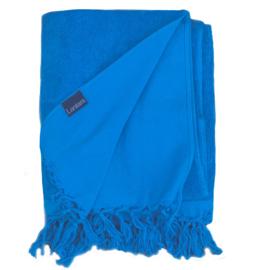 Hamamdoek badstof -  Blauw (LANTARA) 100x210cm