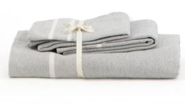 Set handdoeken - Licht grijs - LANTARA