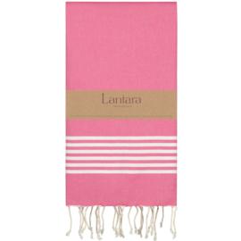 Hamamdoek Provence - Fuchsia roze  - 100X200cm (LANTARA)