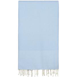 Plaid of  grand foulard katoen -Lichtblauw - 198x300cm (LANTARA)