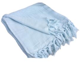 Hamamdoek badstof -  Lichtblauw - 100x210cm (LANTARA)