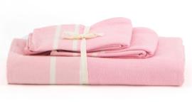 Set handdoeken - Roze - LANTARA