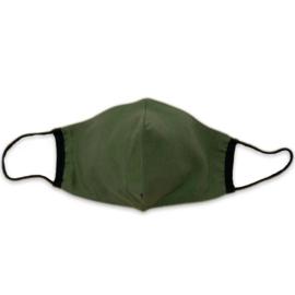 Mondkapje Eendenbek - Legergroen Groen