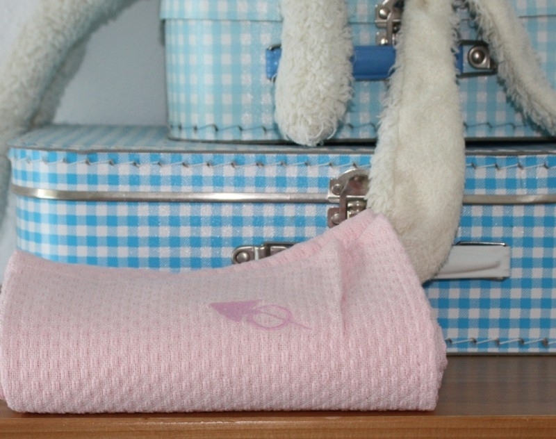 Set Baby (hand)doeken (LANTARA), 43x90 cm