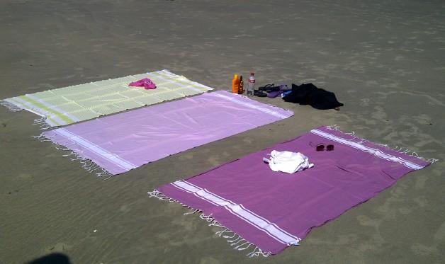 hamamdoeken op een rijtje