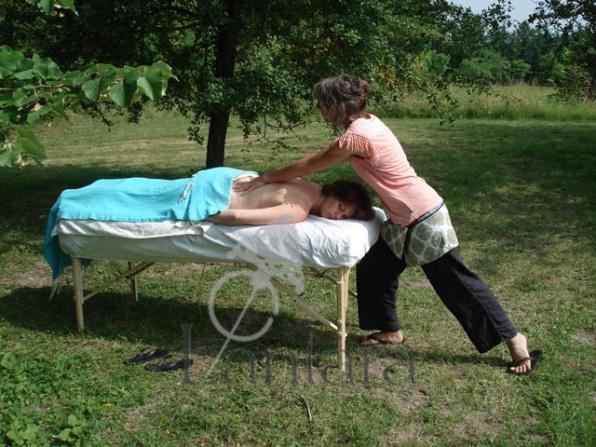 hamamdoek als massagedoek