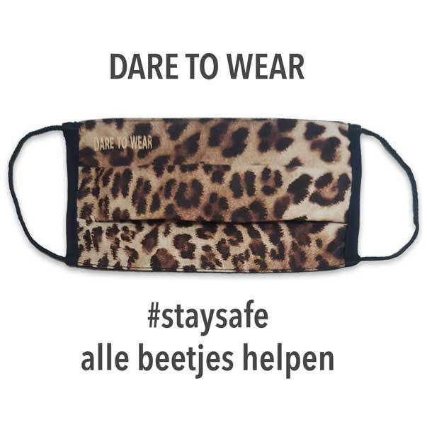 Mondkapje wasbaar Dare to Wear