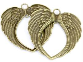 Vleugels groot - oud goud