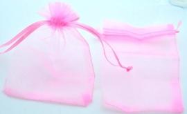 Organzazakje - Licht roze