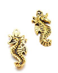 Zeepaardje bedel - goud