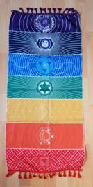 Kleed 7 chakra symbolen