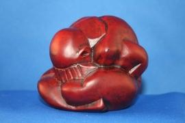 Yogiman - rood polystone