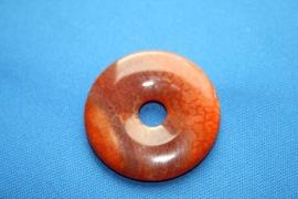 Carneool donut - 40mm